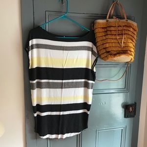 |3 for $20| Anthropologie Bailey44 Striped Tee